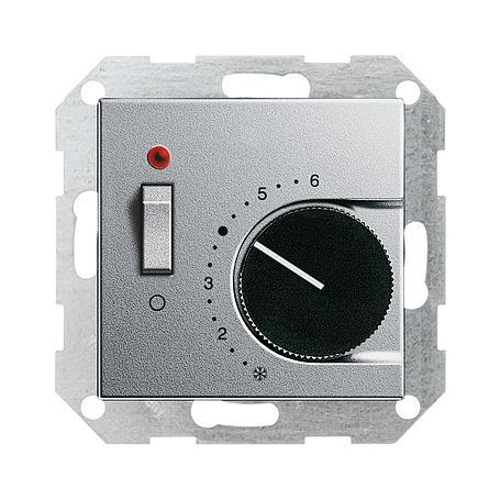 Gira Raumthermostat alu Ein/Aus System 55
