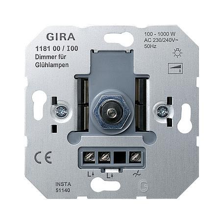 Gira Dimmer-Einsatz 100-1000W