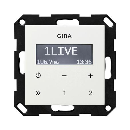 Gira UP-Radio RDS ohne Lautsprecher rws System 55