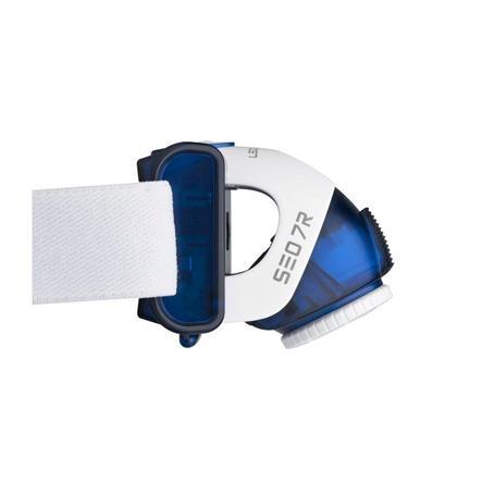 LED LENSER SEO 7R Stirnlampe blau aufladbar Akku