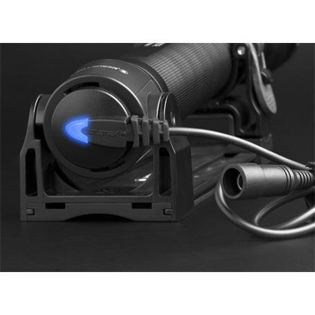 LED LENSER X21R.2 Taschenlampe Akku aufladbar