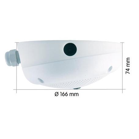 Mobotix 10° Aufputz-Set für Q2x/D2x/ExtIO