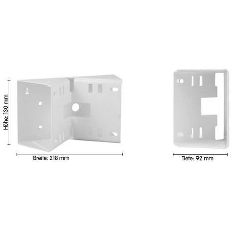 Mobotix Mast-/Eckhalter für Wandhalter MX-OPT-MH