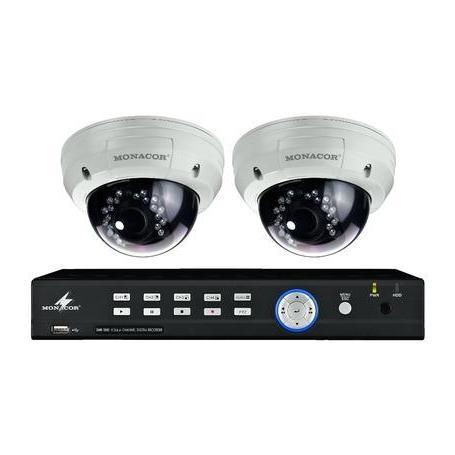 MONACOR DMR-2840SET Videoüberwachungsset