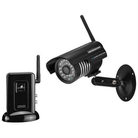MONACOR DVT-410SET Digital Funkkamera-Set