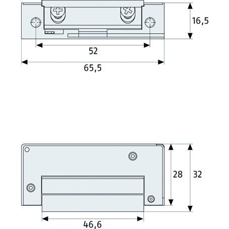 ABUS MT90 Mechanischer Türöffner
