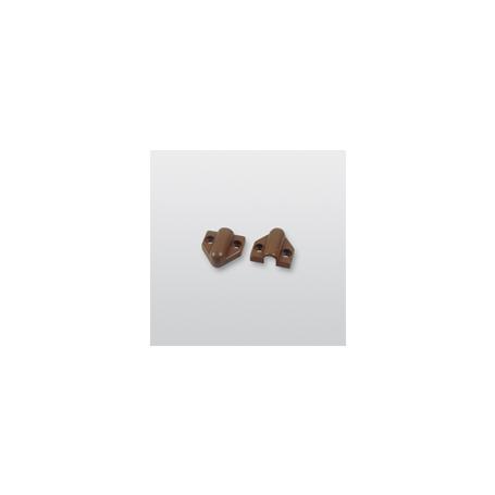 Telenot Befestigungskappen 9 mm, braun
