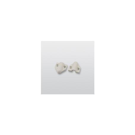 Telenot Befestigungskappen 9 mm, grau