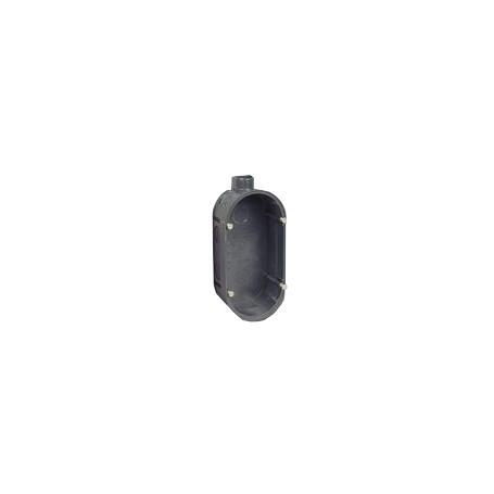 Doppel-Gerätedose für Unterputz-Montage