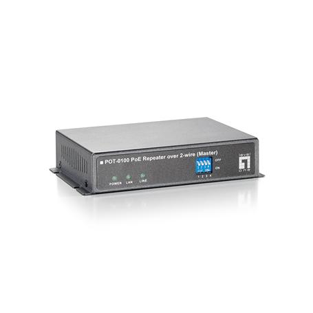POT-0100 PoE Repeater over 2-wire (Master)