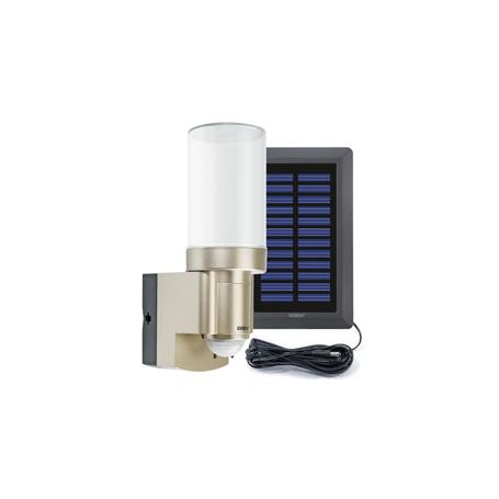 GEV Solar-LED-Leuchte LPL 14831 + Akku, champagne