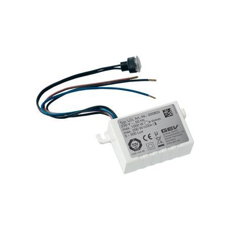 GEV Dämmerungsschalter LCI 803 für Leuchteneinbau
