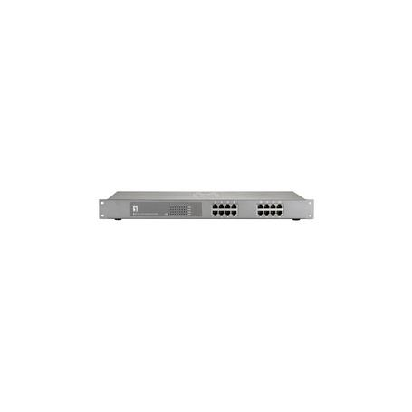 GEP-1622 16-Port Gigabit PoE-Plus Switch, 480W