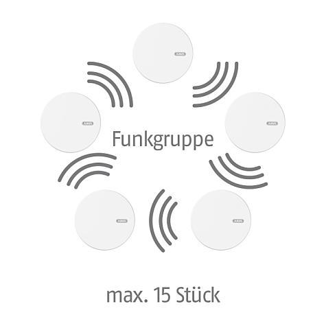 5 st ck abus funk rauchmelder rwm450 neu ovp ebay. Black Bedroom Furniture Sets. Home Design Ideas