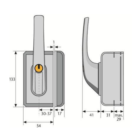 3 st ck abus fo400n w fensterschloss weiss neu ovp ebay. Black Bedroom Furniture Sets. Home Design Ideas