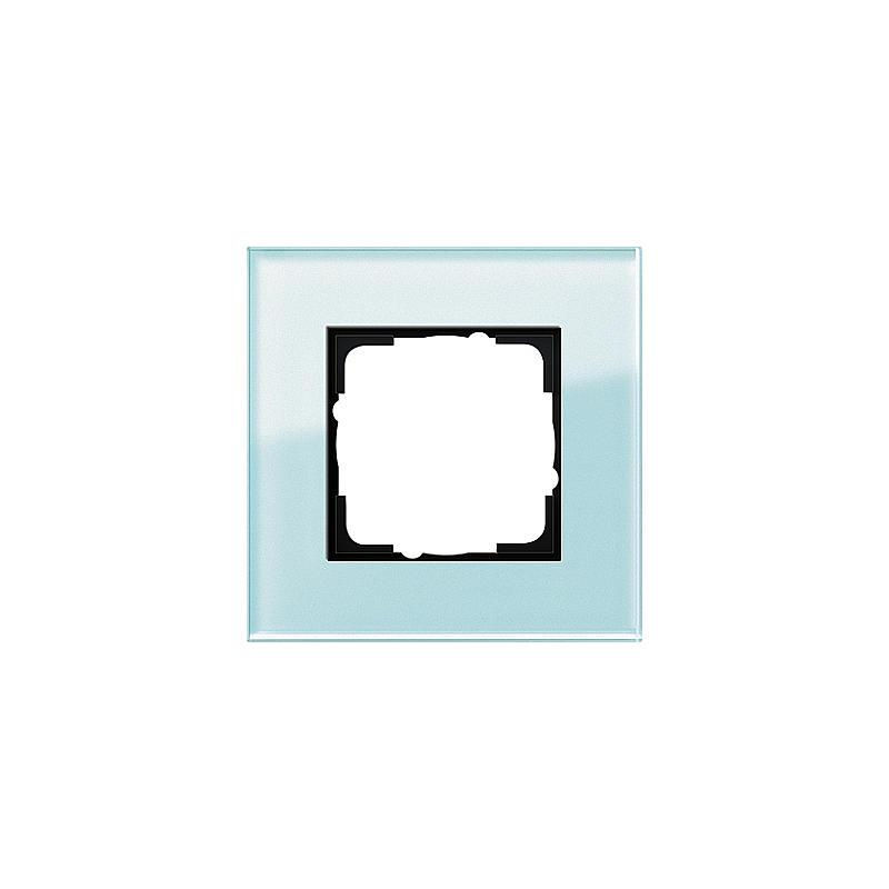 gira abdeckrahmen 1fach glas mint esprit expert. Black Bedroom Furniture Sets. Home Design Ideas