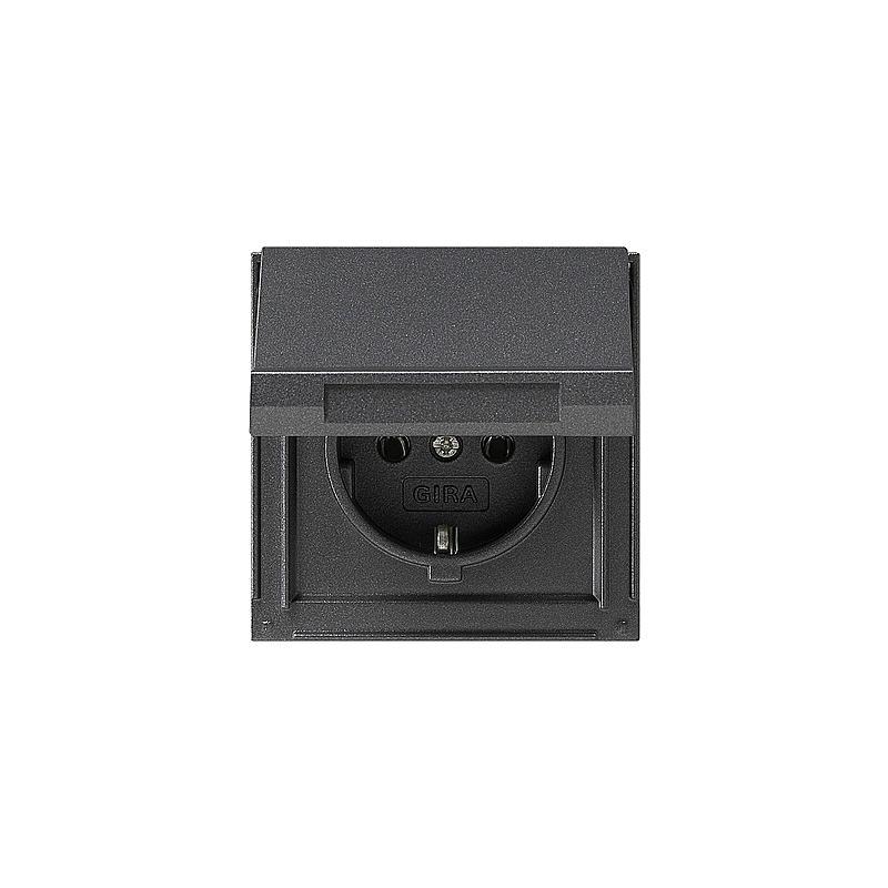 gira schuko steckdose m klappd anth tx44 expert. Black Bedroom Furniture Sets. Home Design Ideas