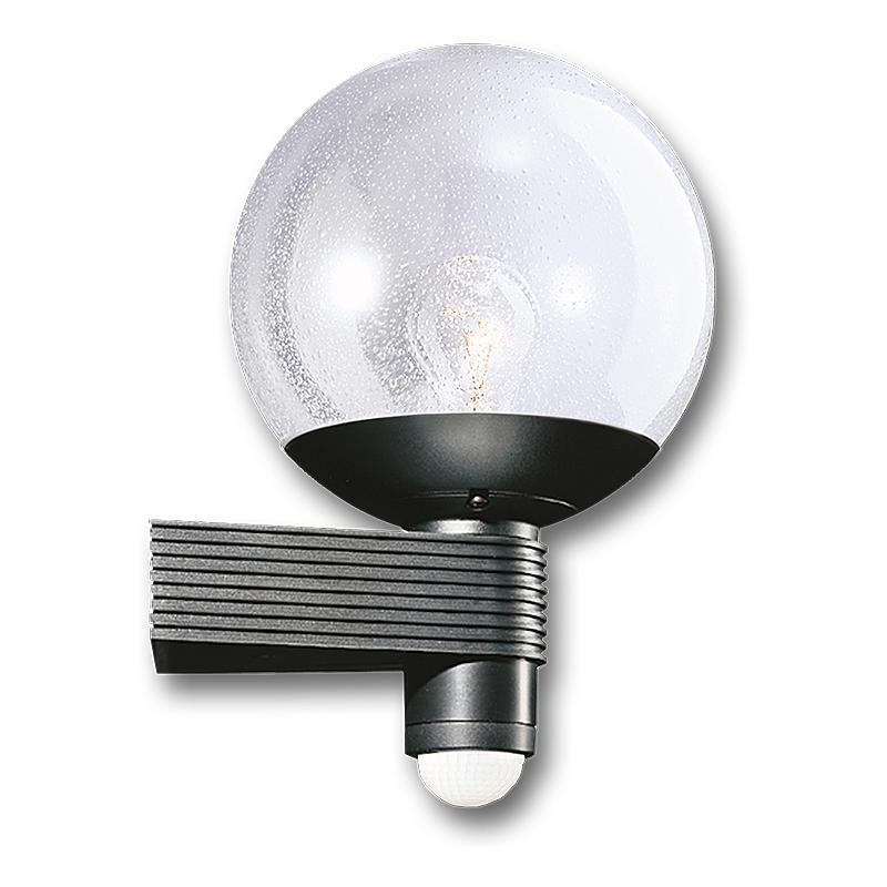 Sensor-Leuchte 60W IP44 230-240V L 400S sw