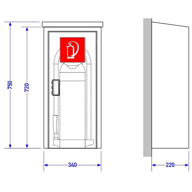gloria feuerl scher schutzschrank ws fl 12 expert. Black Bedroom Furniture Sets. Home Design Ideas