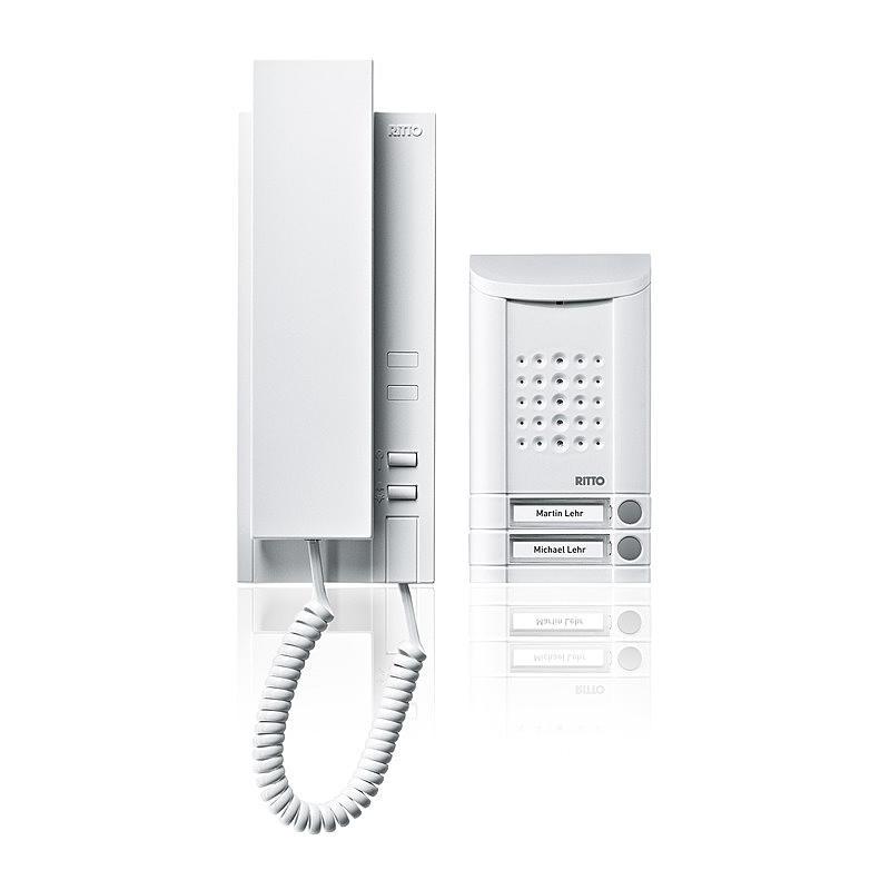 Audio Zweifamilienset Minivox Türsprech-Set