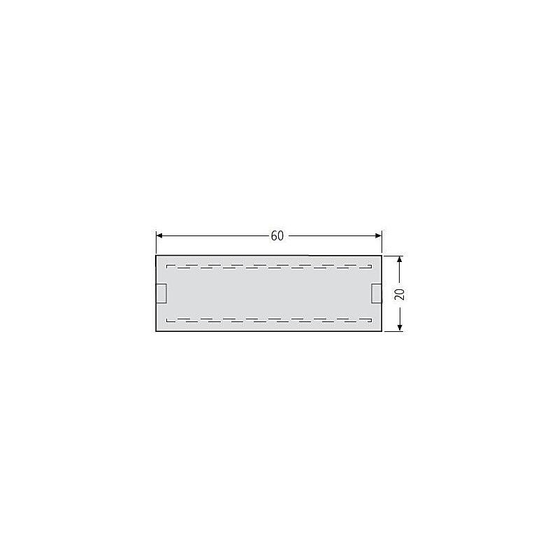 Renz Namensschild 60 x 20 mm, 97-9-82183