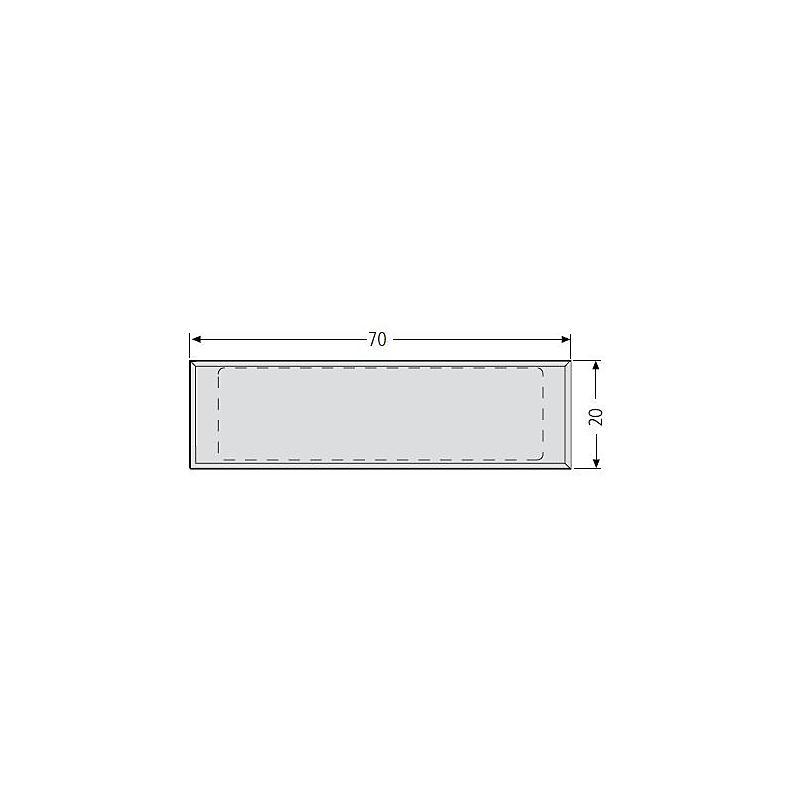 Renz Namensschild 70 x 20 mm, 97-9-82173