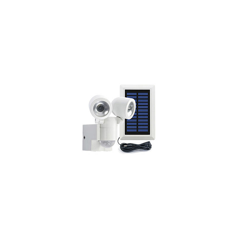 Solar-LED-Strahler Duo LPL 841 + Akku, weiss
