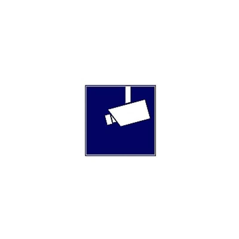 Indexa Aufkleber Videoüberwacht Wak V 3erpack