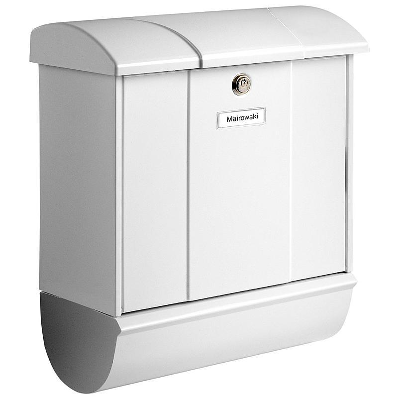 burg w chter stahlblech briefkasten olymp 91600 w expert. Black Bedroom Furniture Sets. Home Design Ideas