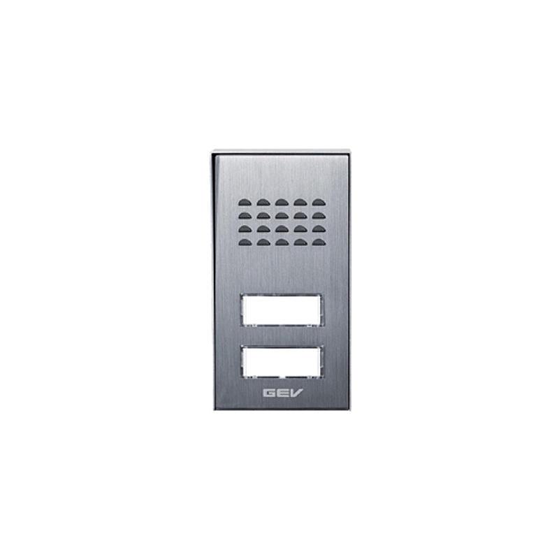 Außeneinheit CAS Audio-Türsprechanlage 2-Fam.