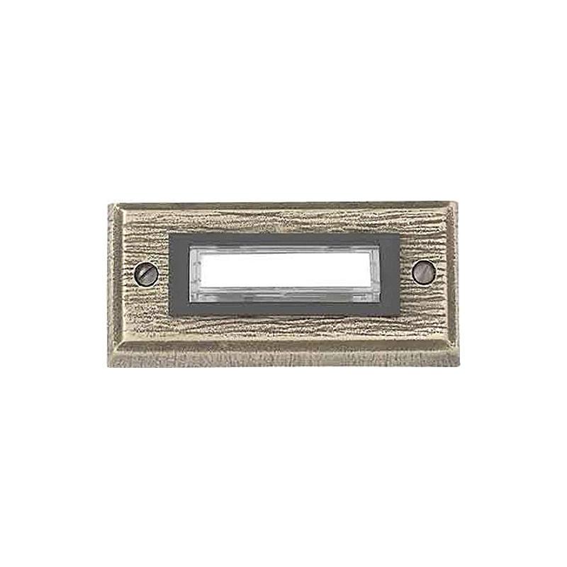 Kontaktplatte E26/1, Bronzeguß