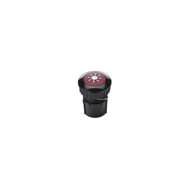 Klingeltaster PROTACT 100 LED, schwarz-rot