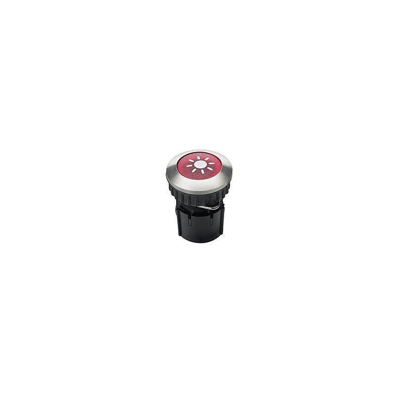 Klingeltaster PROTACT 105 LED Edelstahl V2A