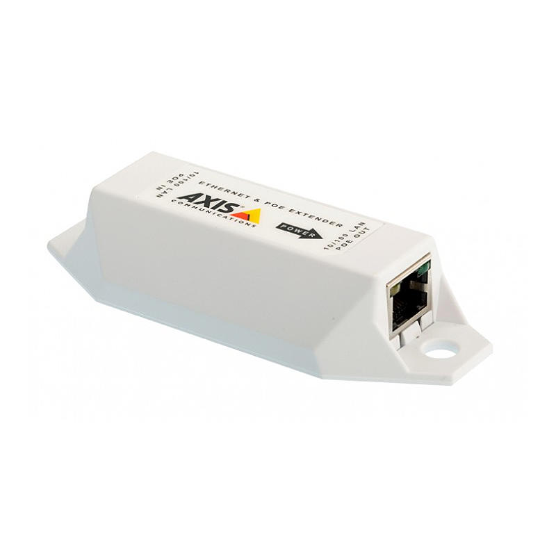 Axis T8129 PoE Extender, PoE, PoE+ 100m Reichweite