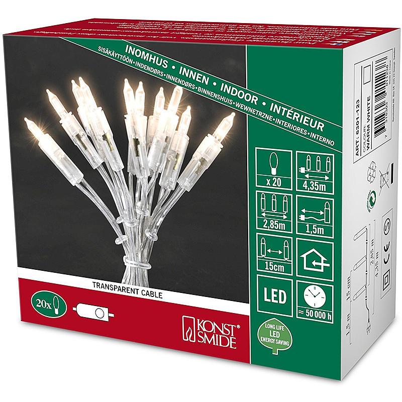 LED Minilichterkette OneString 20LEDs w
