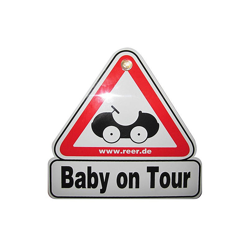 "reer Autoschild ""Baby on Tour"" 80210"