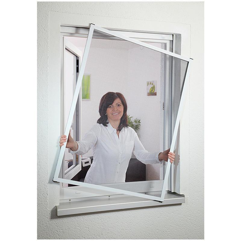 CULEX Fensterfliegengitter Master Slim 80x100 cm weiß