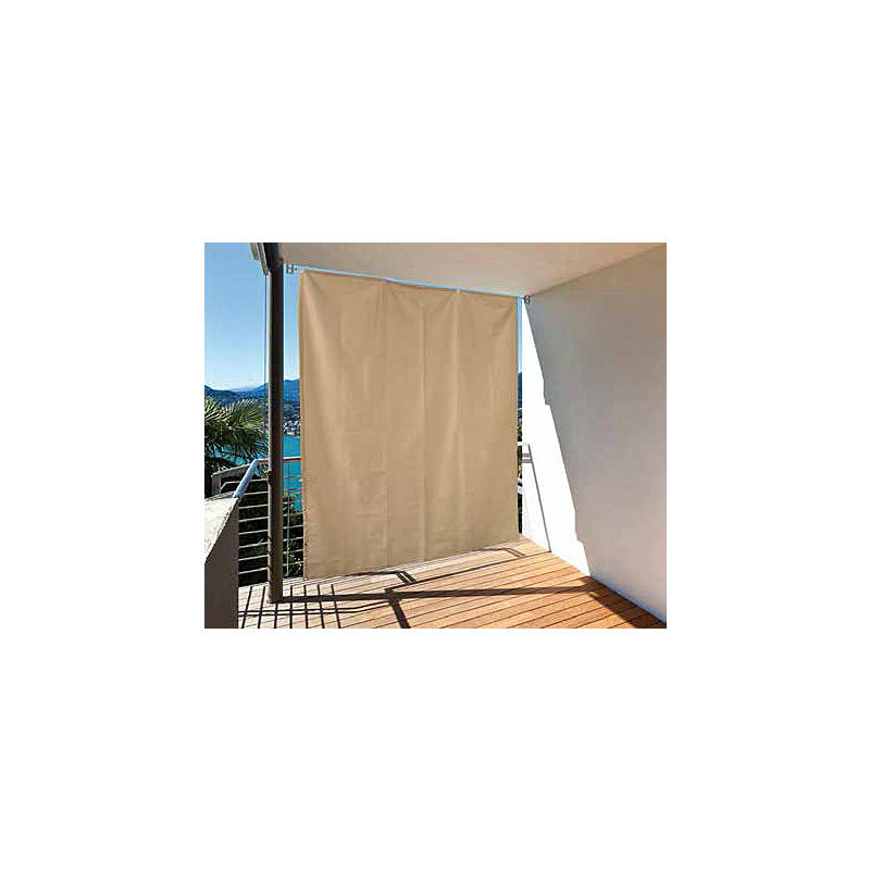 vertikaler sonnenschutz f r balkon anthrazit expert