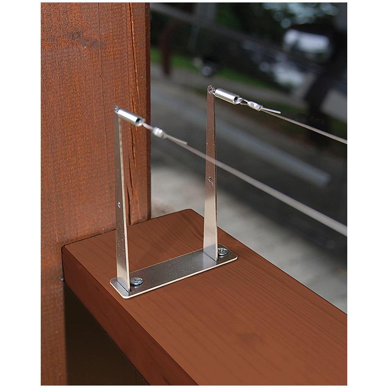 vorhang seilsystem edelstahl cheap seilsysteme fr gardinen with vorhang seilsystem edelstahl. Black Bedroom Furniture Sets. Home Design Ideas