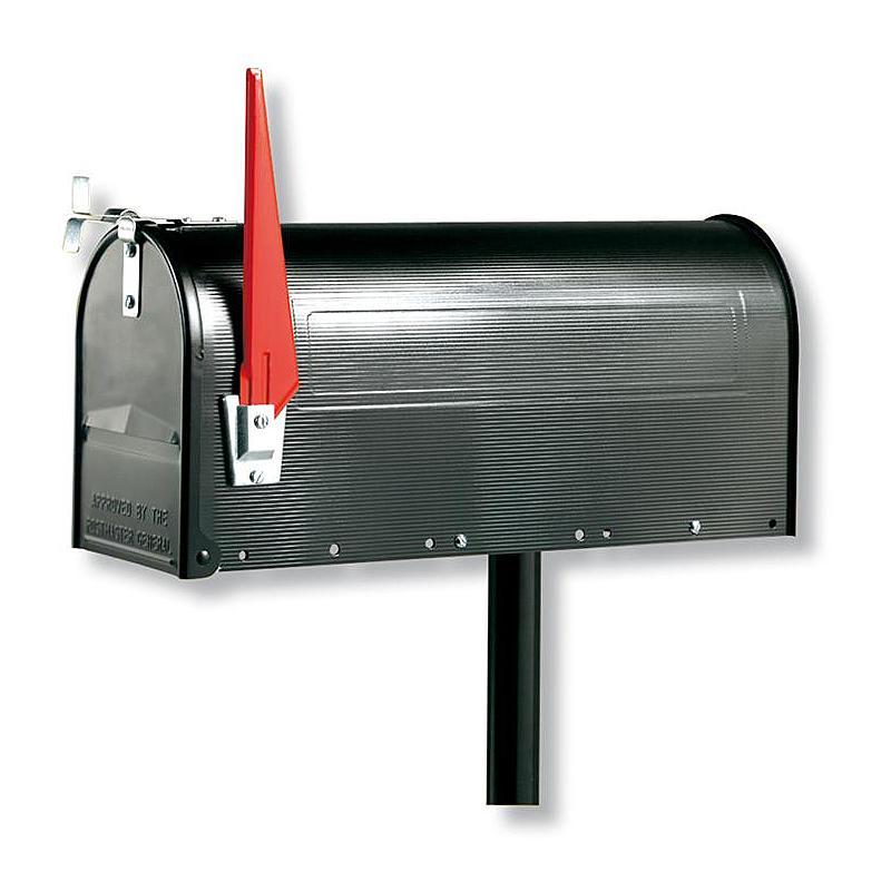 891 S U.S. Mailbox, schwarz