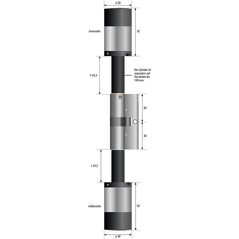 burg w chter secuentry pro 7000 zylinder expert. Black Bedroom Furniture Sets. Home Design Ideas