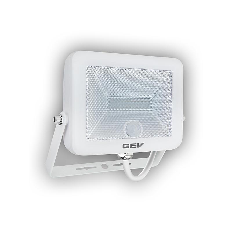 gev flat led strahler 10 w lls 18778 pir sensor expert. Black Bedroom Furniture Sets. Home Design Ideas