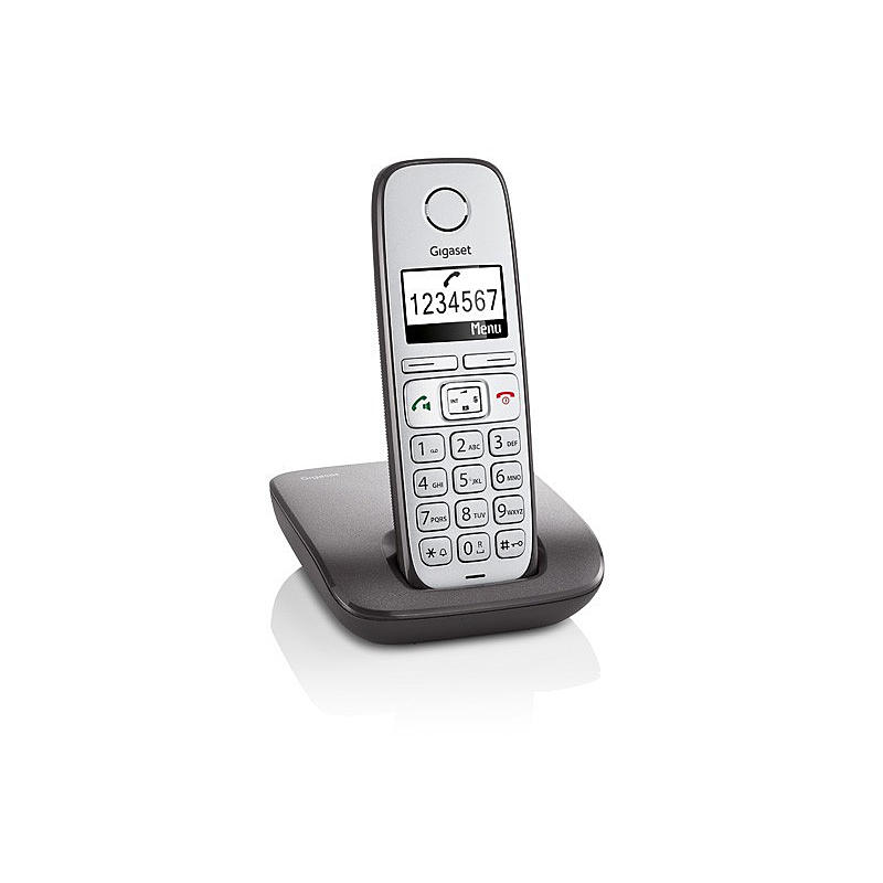 Mobiltelefon anthrazit E310 an