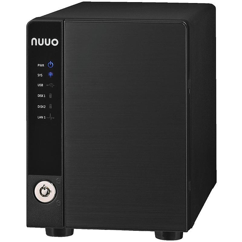 Monacor NVR-202 Netzwerk-Videorekorder 2-Kanal