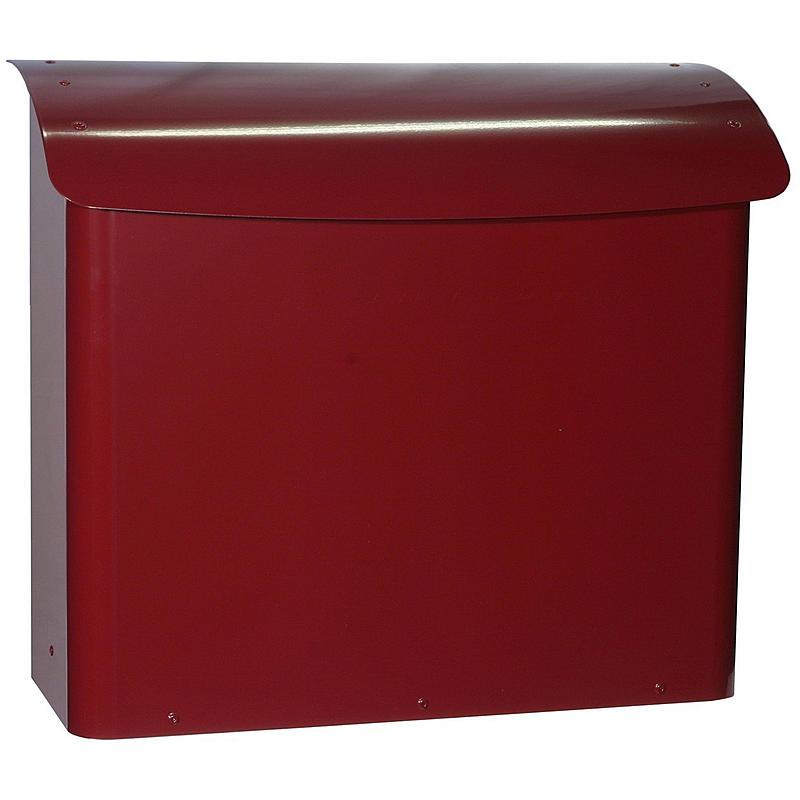Safepost 21 Briefkasten rot