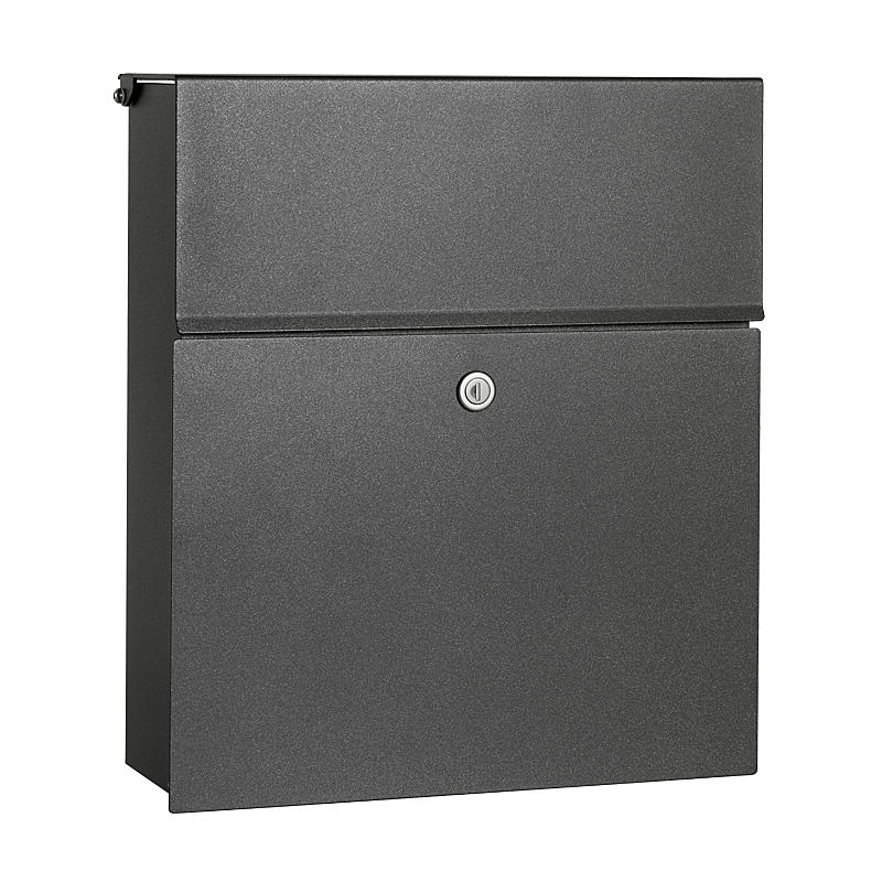 heibi briefkasten calmalux 64488 039 grafitgrau expert. Black Bedroom Furniture Sets. Home Design Ideas