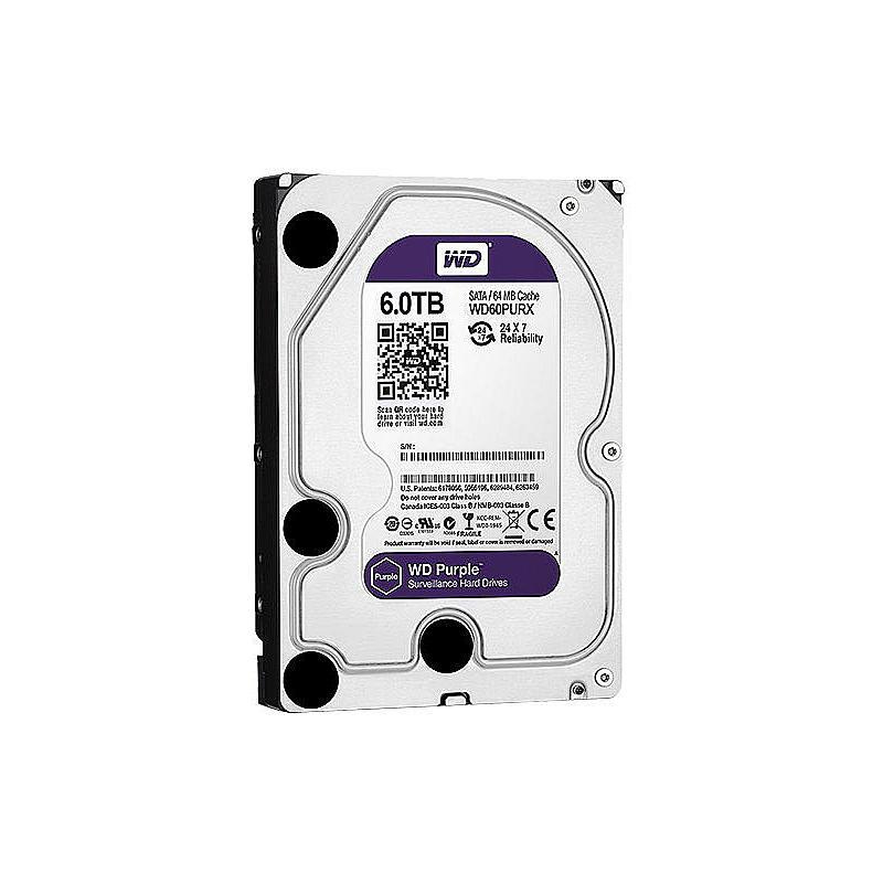 Festplatte - WD Purple 6 TB