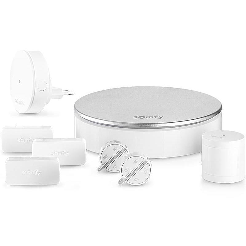somfy home alarm set plug play alarmanlage expert. Black Bedroom Furniture Sets. Home Design Ideas