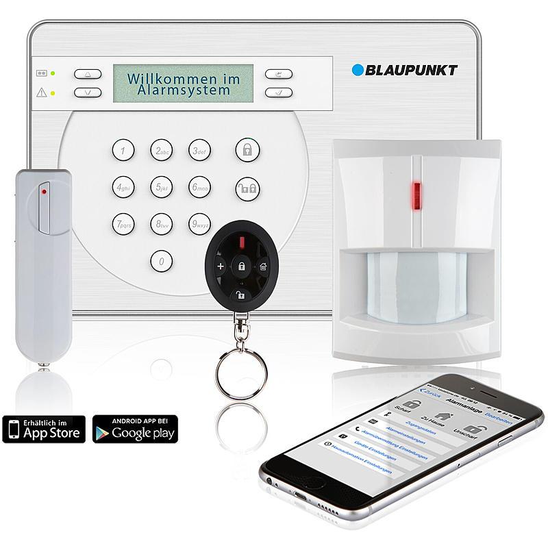 Blaupunkt SA 2900 R GSM Funk-Alarmanlagen Starterset | Expert ...