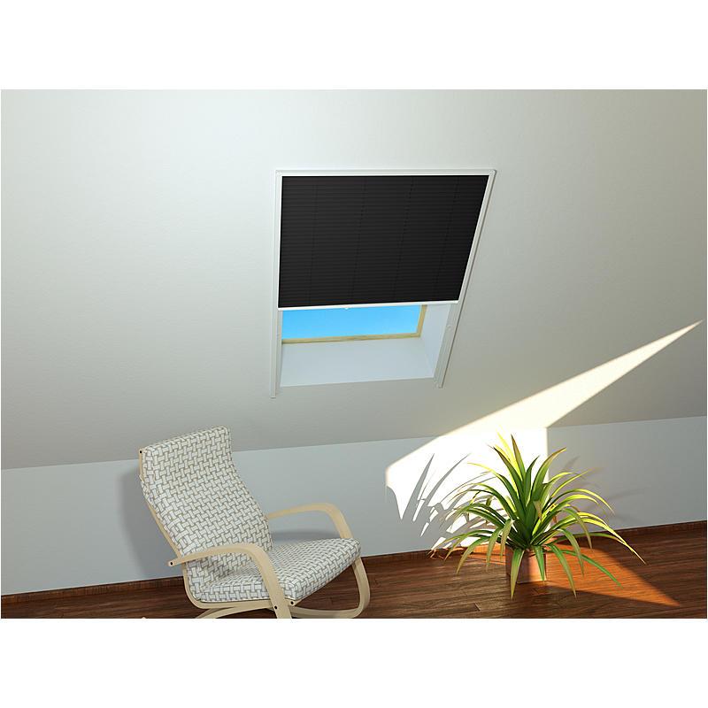 CULEX Sonnenschutz-Dachfenster-Plissee 110x160cm, weiß